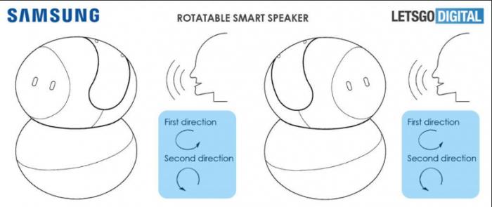 Bằng sáng chế tiết lộ loa thông minh của Samsung sẽ có camera và màn hình cảm ứng