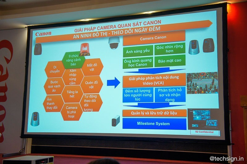 Canon giới thiệu nhiều giải pháp máy chiếu cho gia đình và doanh nghiệp