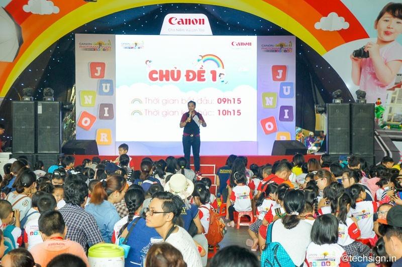Canon PhotoMarathon Junior 2018 tại TP.HCM diễn ra sôi động
