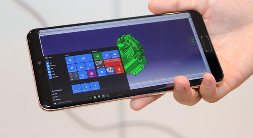 Huawei cho điện thoại Android chạy Windows 10