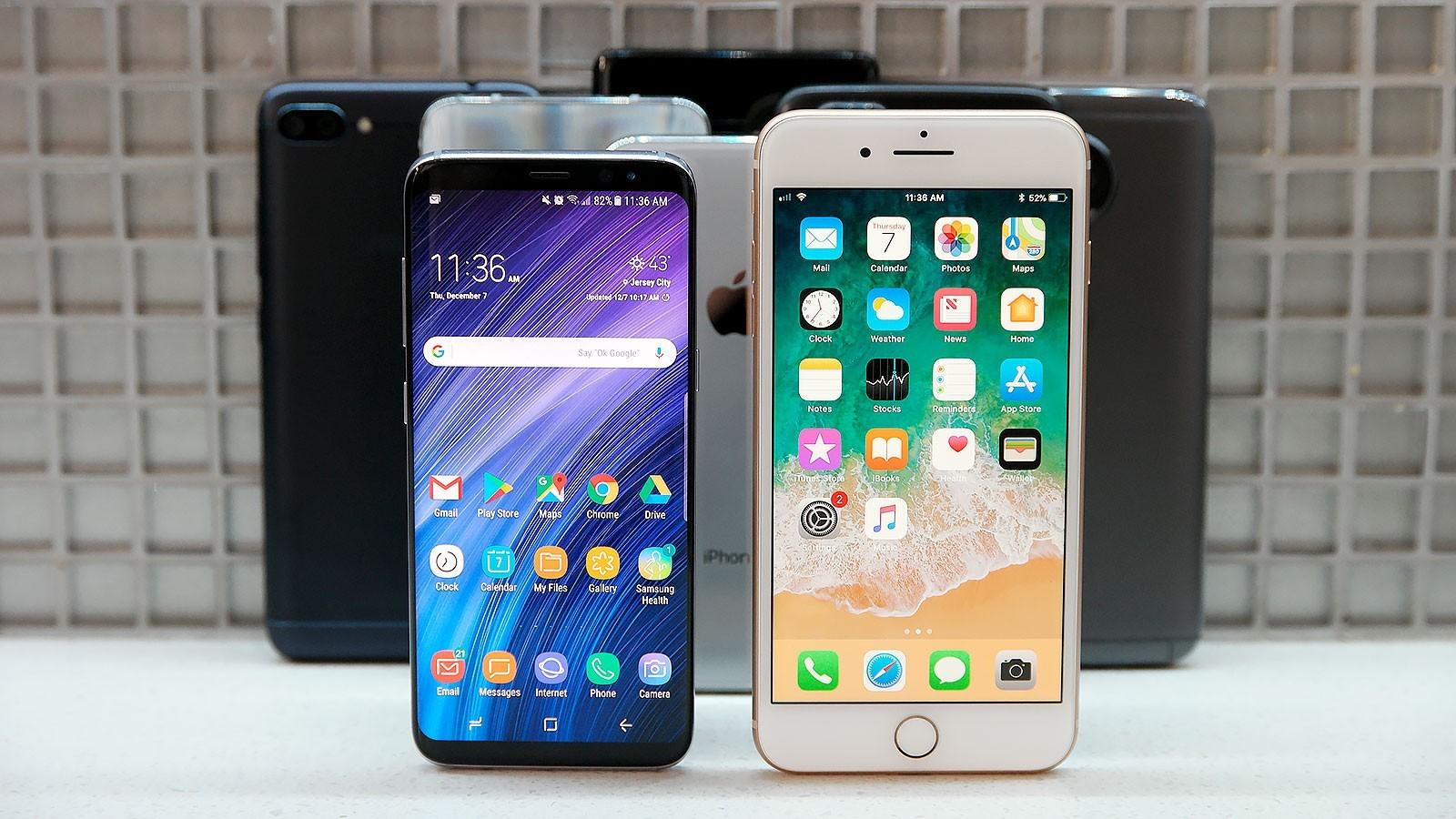 Doanh số smartphone toàn cầu tiếp đà giảm
