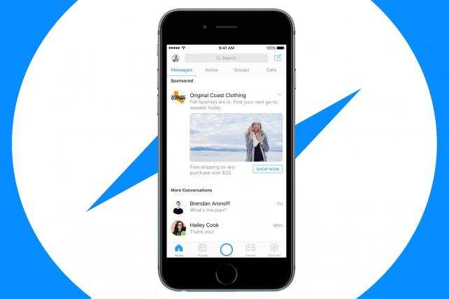 Facebook đưa video quảng cáo cạnh các tin nhắn trên Messenger