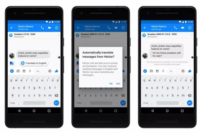 Facebook Messenger sắp có khả năng dịch tự động