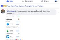 Bản cập nhật mới của Facebook Messenger trên iOS lại gặp lỗi đá ra liên tục