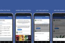 Facebook tăng cường tính minh bạch cho quảng cáo trên Fanpage