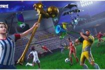 Fortnite tung skin mới cổ động World Cup 2018