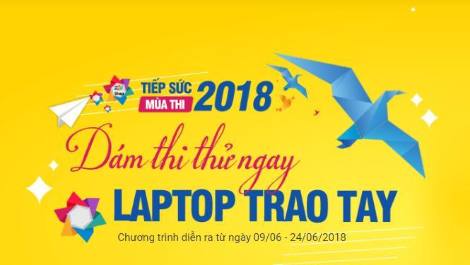 FPT Shop tặng bộ quà cho sĩ tử Thi thử THPT Quốc gia