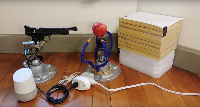 Google Assistant có thể bắn súng theo lệnh