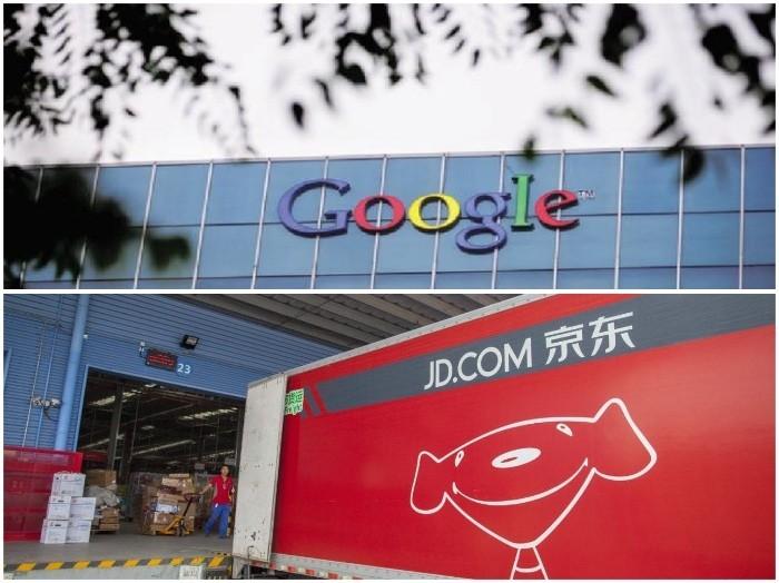 Google đầu tư 550 triệu USD vào công ty thương mại điện tử JD.com