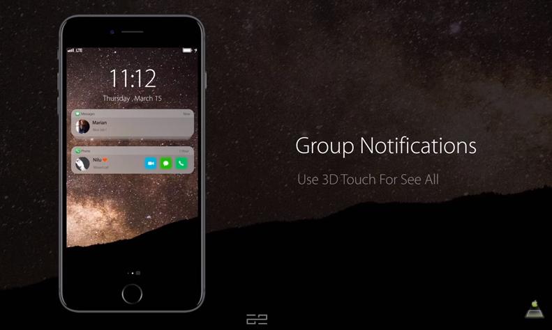 iOS 12 cho phép nhóm thông báo như Android
