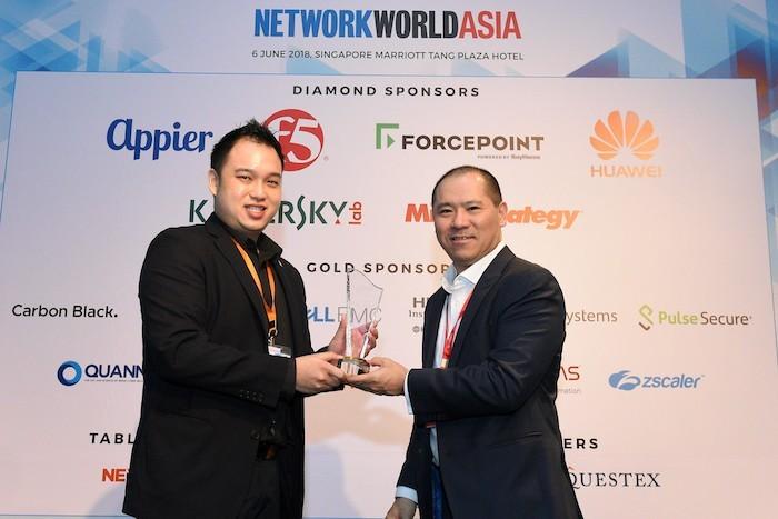 Kaspersky Lab đoạt Giải thưởng Quản lí Thông tin Mạng lưới châu Á 2018
