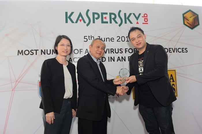 Kaspersky Lab lập kỷ lục ứng dụng AV cho thiết bị di động được kích hoạt