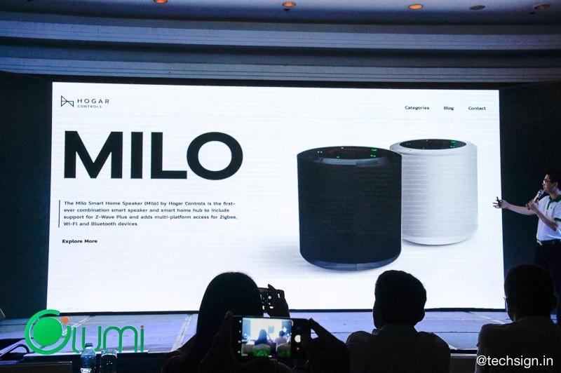 Ra mắt loa thông minh Milo nhận giọng nói tiếng Việt