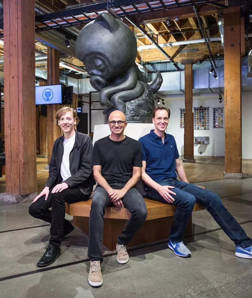 Microsoft chính thức mua lại GitHub giá 7,5 tỉ USD