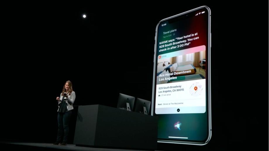 Người dùng thực hiện nhiều thao tác với một lệnh dựa trên tính năng Shortcus của Siri