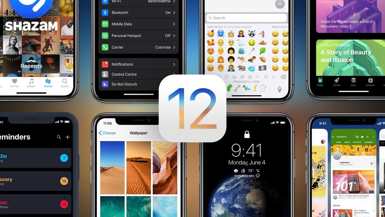 16 điểm nhấn trên iOS 12 vừa ra mắt