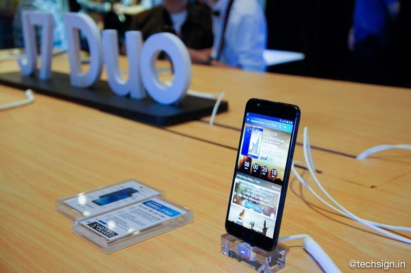 Samsung Galaxy J7 Duo ra mắt, bán độc quyền tại Lazada