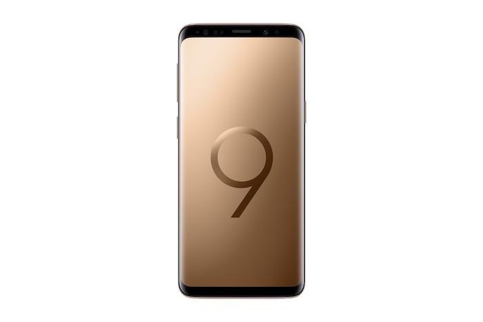 Samsung tung Galaxy S9+ bản màu hoàng kim - Sunrise Gold