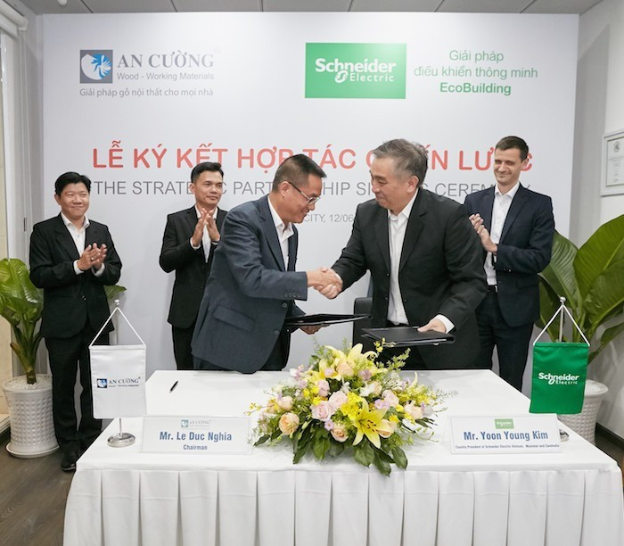 Schneider Electric hợp tác chiến lược cùng công ty An Cường