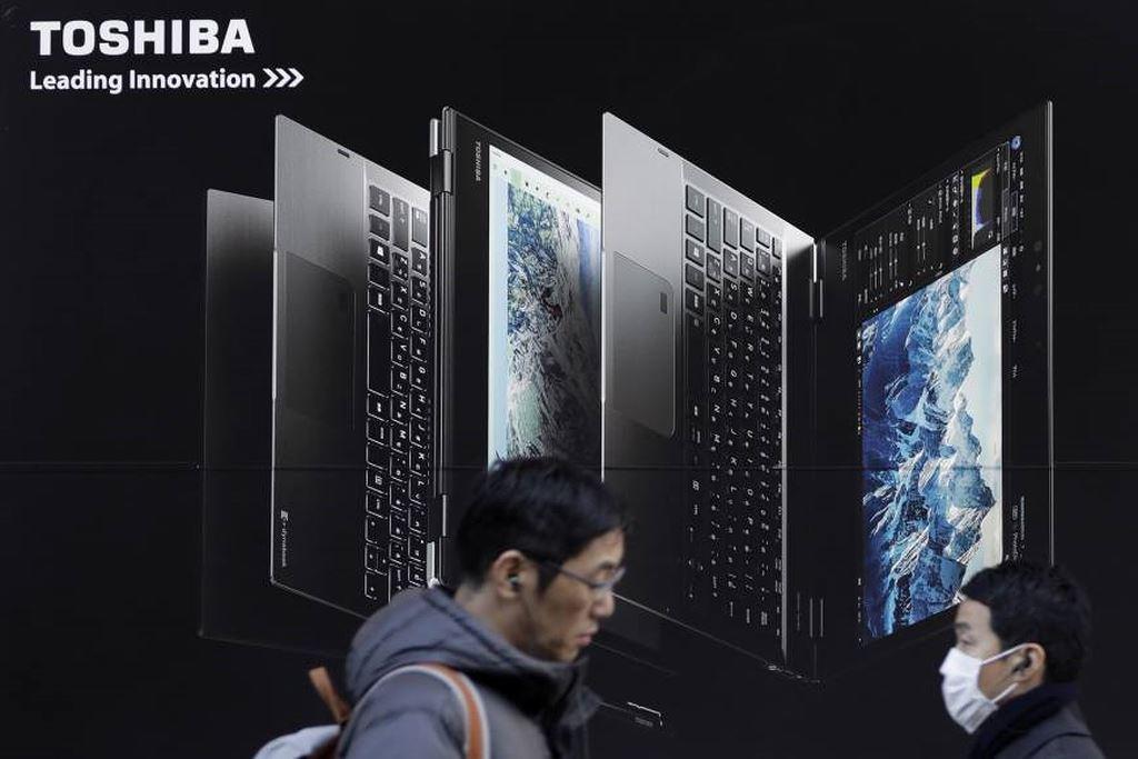 Sharp mua lại mảng PC của Toshiba