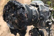 Tên lưa SpaceX khi phóng nung chảy một máy ảnh theo dõi