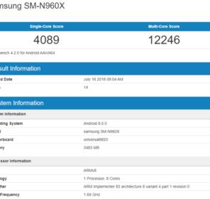 Bộ vi xử lí Exynos 9820 của Samsung có điểm benchmark ấn tượng