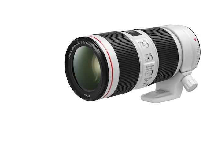 Canon ra mắt hai phiên bản nâng cấp ống kính dòng L