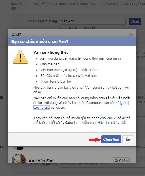 Cách chặn Facebook người đã chặn Facebook mình