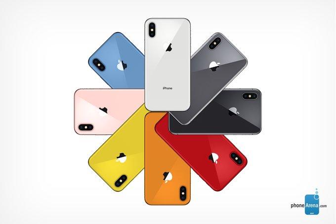 Chỉ iPhone 2018 giá rẻ mới có màu rực rỡ
