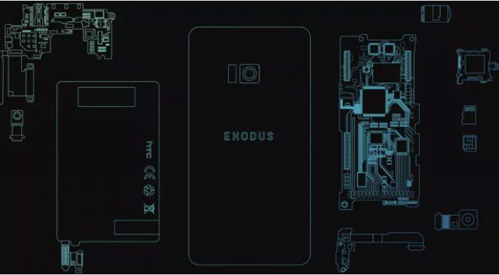 Điện thoại blockchain - HTC Exodus có giá 1000 USD