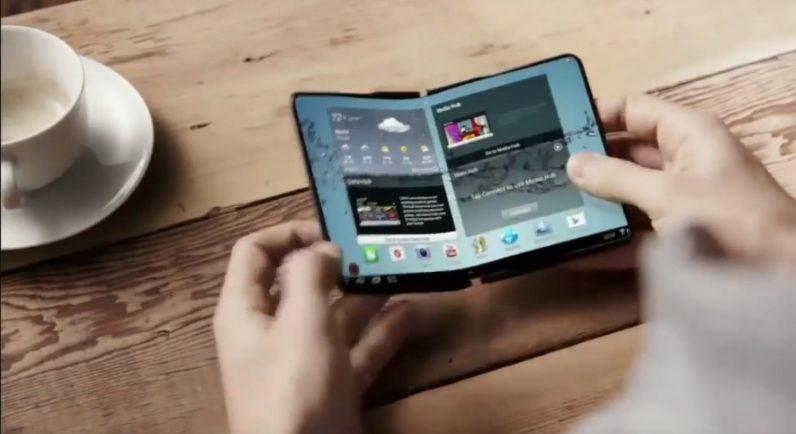 Điện thoại gấp của Samsung có thể sẽ trang bị màn hình 7 inch và màn hình phụ