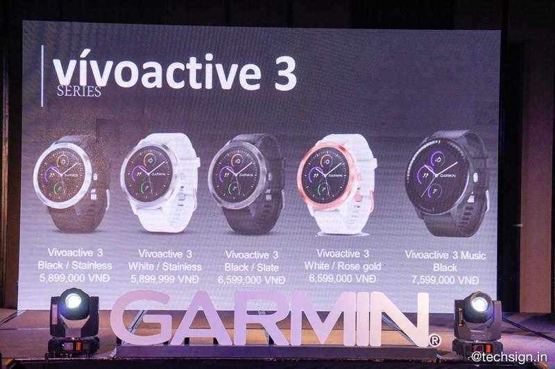 Garmin ra mắt Fenix 5 Plus Series và Vivoactive 3, giá từ 8 triệu đồng
