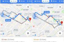 Cuối cùng Google Maps đã chính thức hỗ trợ xe máy tại Việt Nam