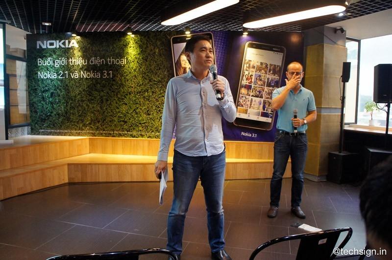 HMD Global chính thức giới thiệu Nokia 2.1 và Nokia 3.1