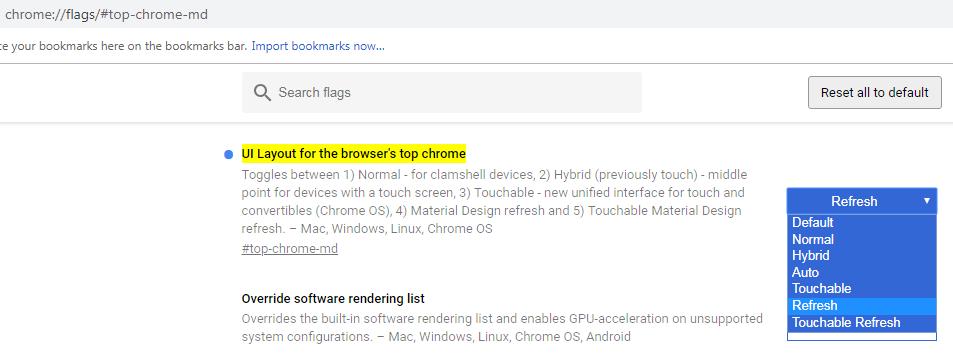 Hướng dẫn kích hoạt giao diện mới Material Design đẹp lung linh trên Chrome
