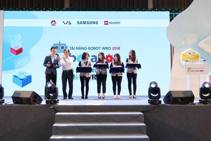 Samsung phối hợp tổ chức cuộc thi Robotacon WRO 2018 và First Lego League