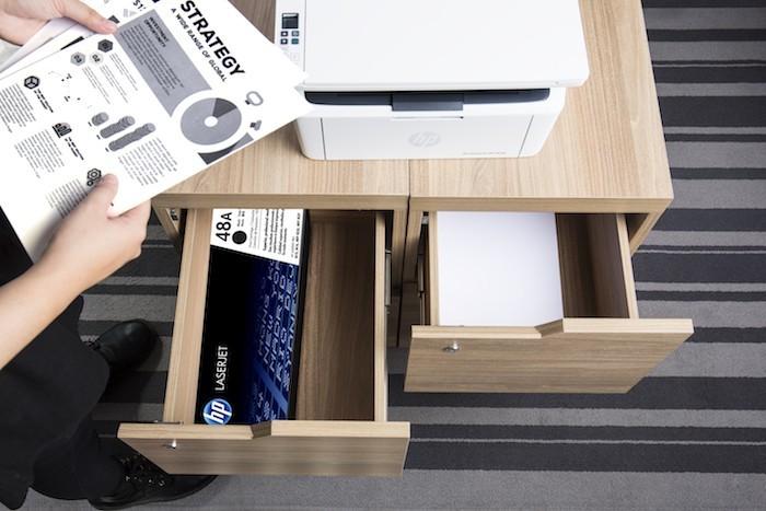 HP tung bộ đôi máy in Laser nhỏ, giá thành phải chăng cho văn phòng nhỏ