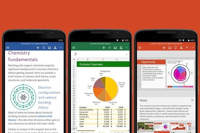 Office trên Android và iOS cập nhật tính năng mới