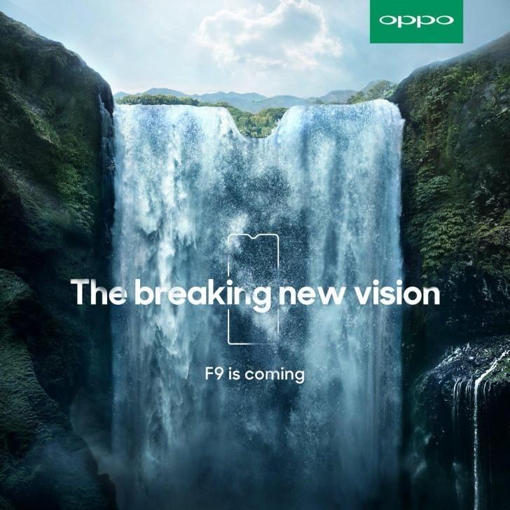 Hé lộ thiết kế OPPO F9 với màn hình giống Essential Phone