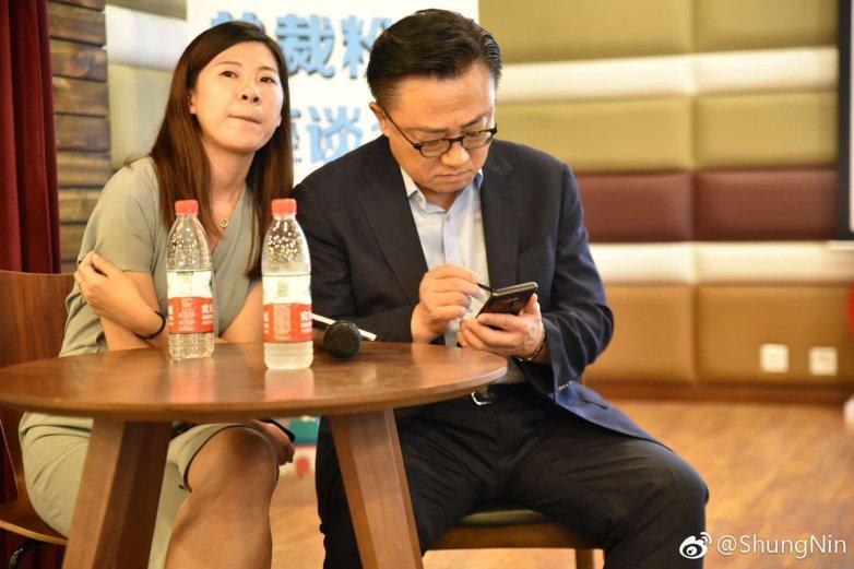 CEO Samsung đang dùng Galaxy Note 9
