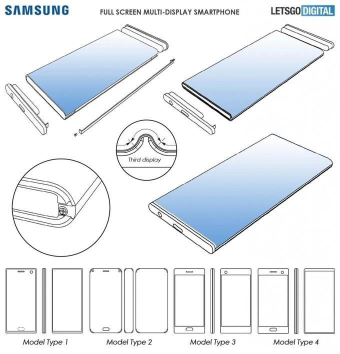 Samsung đăng ký công nghệ đa màn hình cho smartphone
