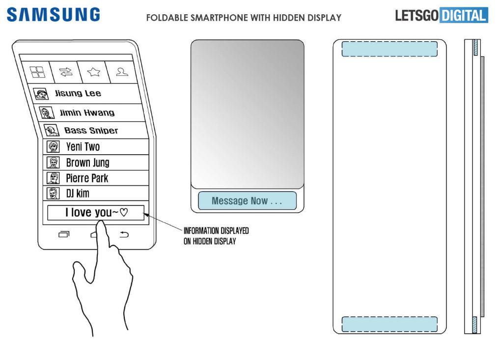 Samsung giải thích nguyên lý hoạt động của điện thoại uốn cong Galaxy X