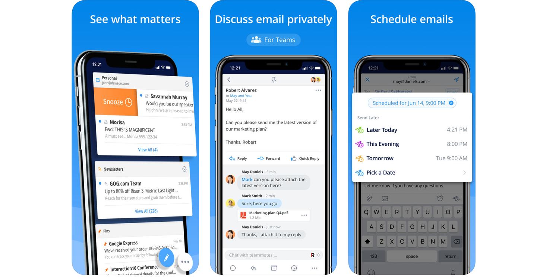 7 ứng dụng mail tốt nhất dành cho người dùng iPhone