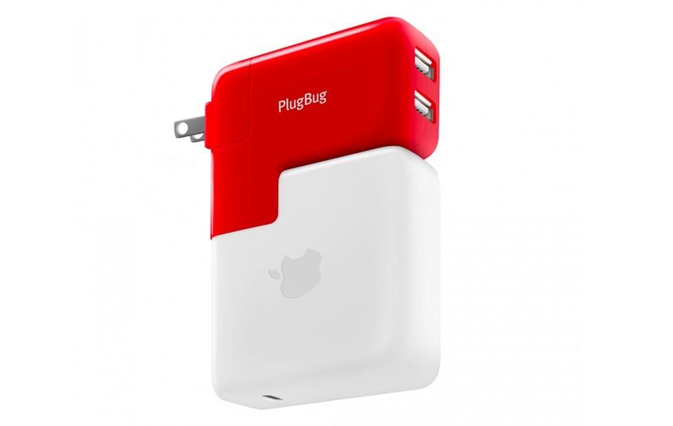 Phụ kiện PlugBug hỗ trợ hai cổng sạc cho tín đồ Macbook đã ra mắt