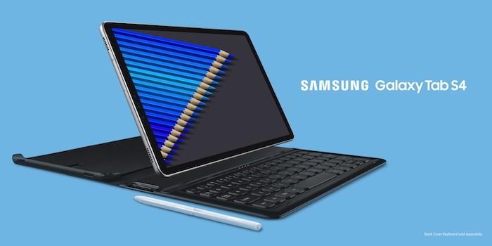 Samsung bất ngờ ra mắt Galaxy Tab S4 và Galaxy Tab A 10.5