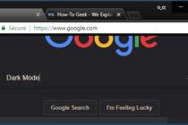 Cách kích hoạt chế độ màu tối cho Google Chrome
