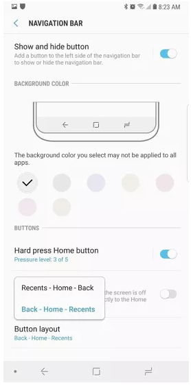 Những cài đặt cần thay đổi ngay sau khi mua Galaxy Note 9