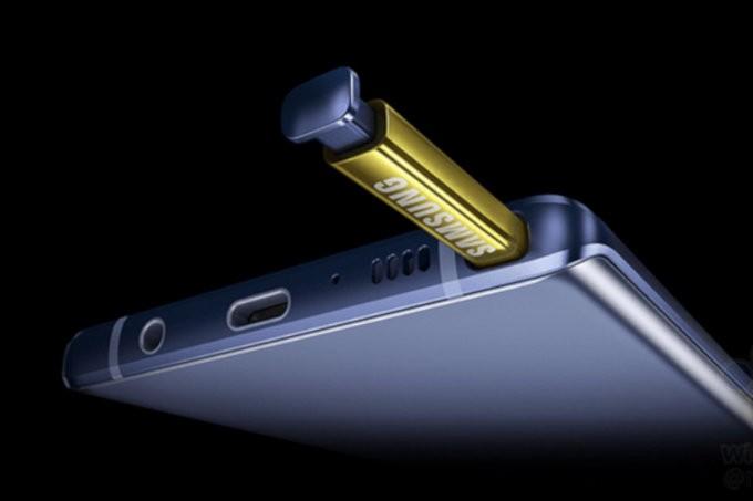 Hình ảnh Galaxy Note 9 tiết lộ tính năng của S Pen