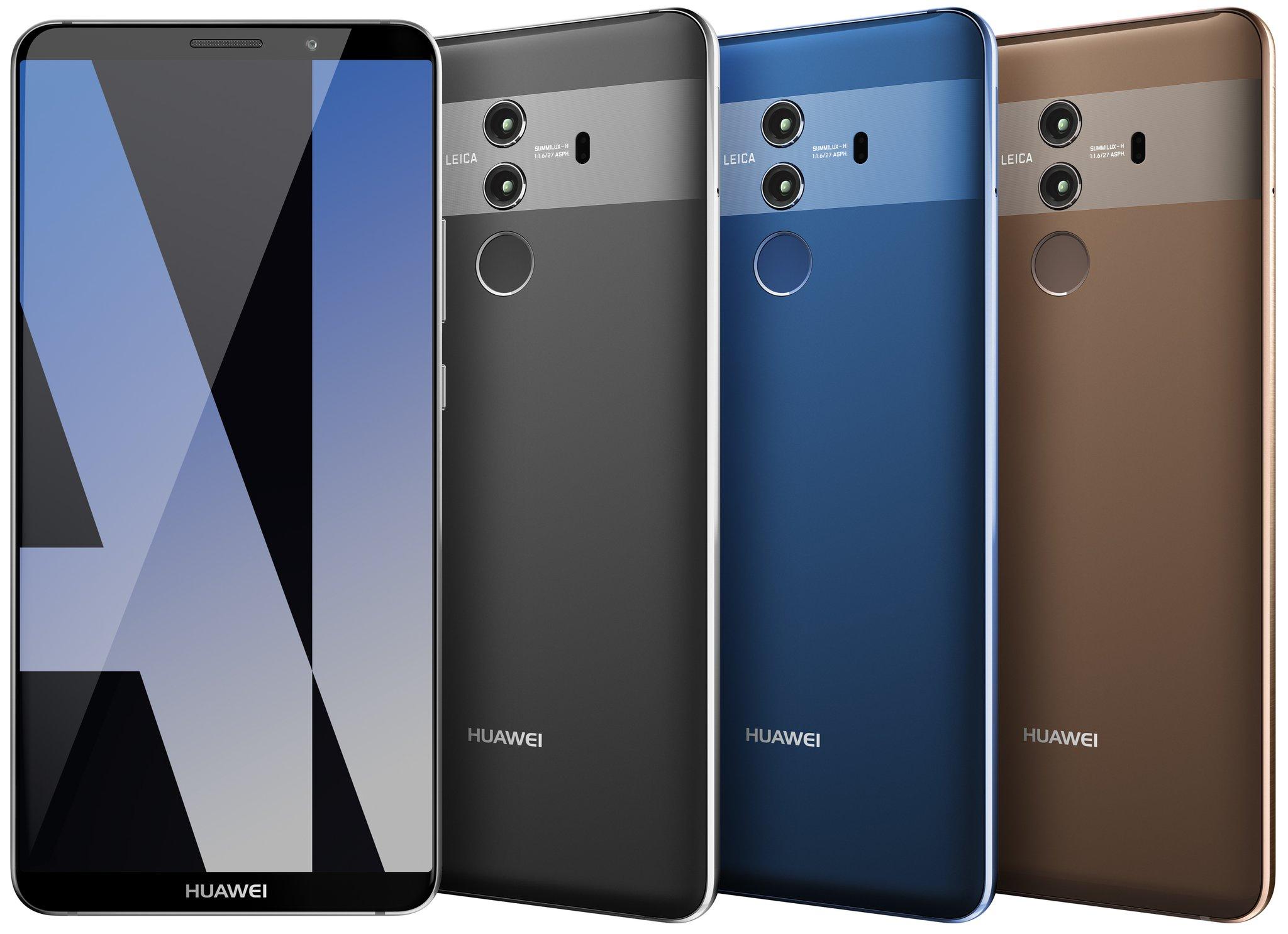 Huawei Mate 20 sẽ có cảm biến vân tay trong màn hình, sạc không dây và Android P?
