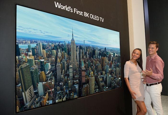 LG ra mắt TV OLED 8K đầu tiên trên thế giới tại IFA 2018